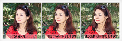 Convert the photograph to Painting effect in Photoshop