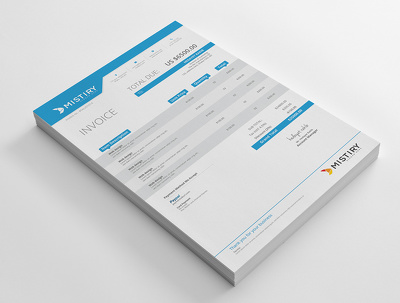 design your company invoice with unlimited revision