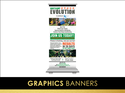 Design your banner (roller, vertical or horizontal)