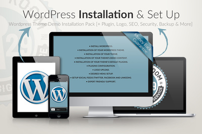 Install WordPress & Setup Theme | Demo Content | Plugins