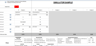 Create a conjoint simulator tool