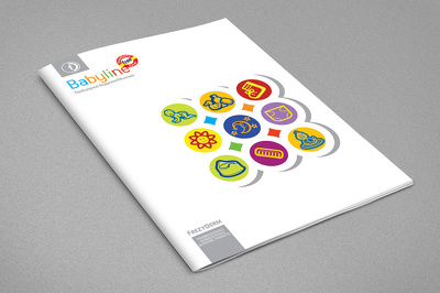 Design your 8 page company/personal profile brochure