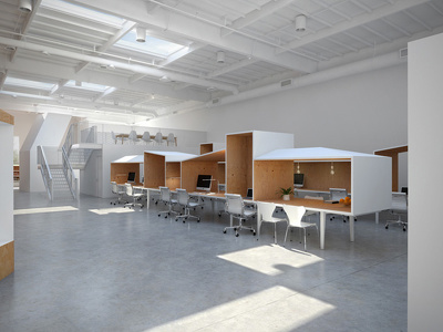 Provide you a full set of Office Interior Design
