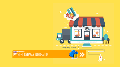 Integrate any payment gateway to your wordpress / woocommerce site.