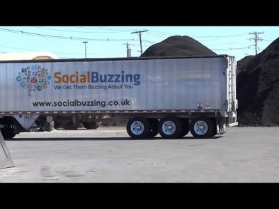 Embed your logo on to this lorry/truck perfect for social media and website.