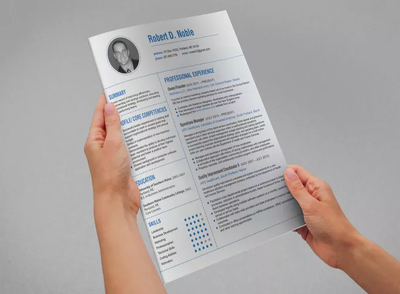 Professionally write a CV/Resume with new content, skills, achievements and goals