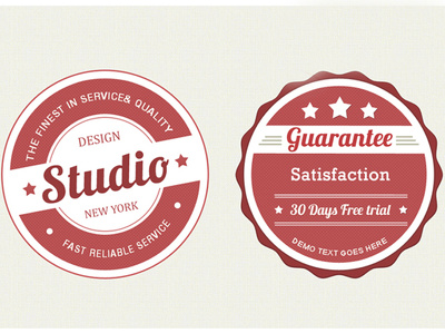 Create a stunning  badge logo with unlimited concept