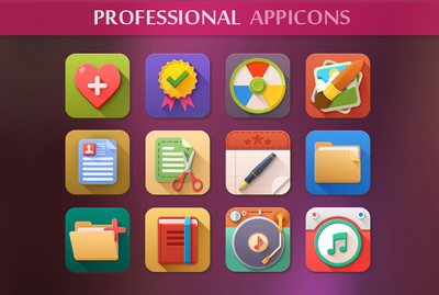 Design an awesome and professional app icon