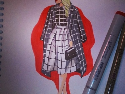 Create fashion illustrations