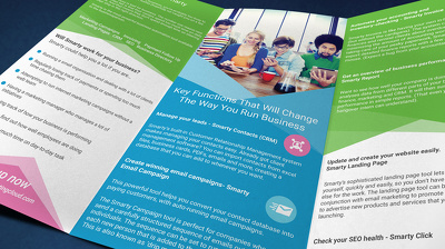 Design a Professional Tri-fold Brochure or a Double Sided Flyer