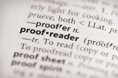 Proofread 10,000 words, ensuring spelling, grammar, punctuation is correct
