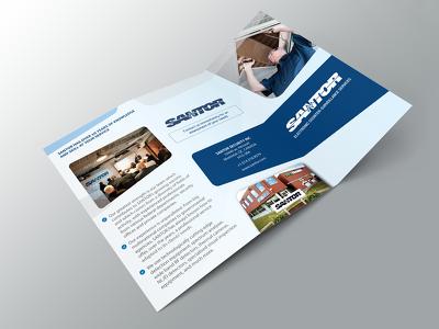 Design professional A3, A4, A5 brochure