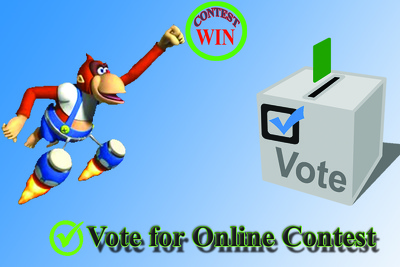 Provide 100 Vote for any online contest