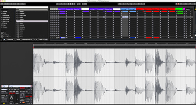 Create customized drum beats & loops that will work with your productions