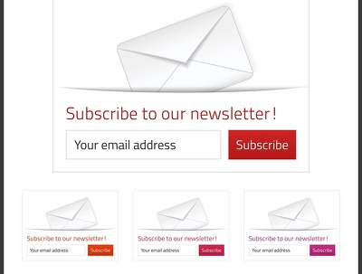 Create an awesome HTML newsletter template for you to use in your email marketing.