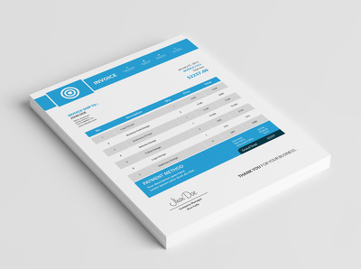 Invoice templates design