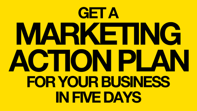 Create an actionable marketing strategy & plan for your business