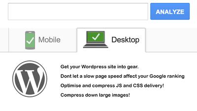 Improve your Wordpress website Google page speed test score