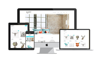 Create  responsive modern Wordpress website, also e-commerce for small businesses