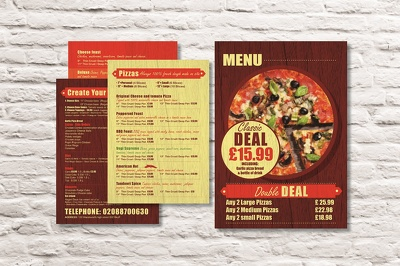 Design your menu