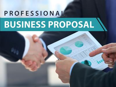 Design professional business proposal