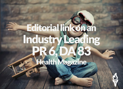 Publish a guest post on a leading Health Magazine