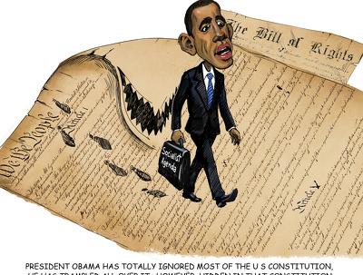 Draw political cartoon