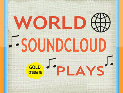 Promote SoundCloud song with big amount of Plays + Bonus 100 Likes