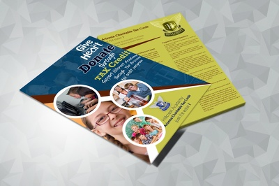 Design unique, professional & creative flyer/poster/brochure or leaflet