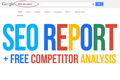 Audit your website and provide an in-depth SEO Analysis Report
