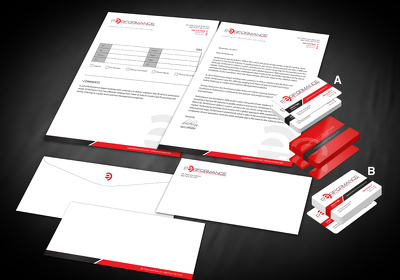 Unique, creative and corporate Stationery design for you