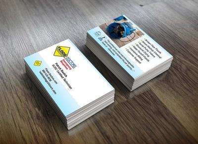 Create professional .jpg business card design
