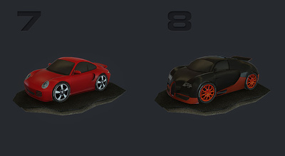 Create for you a 3D mobile racing game