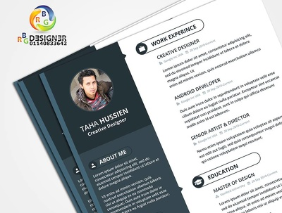Design an unique flyer/poster/Food Menu/CV with unlimited revisions