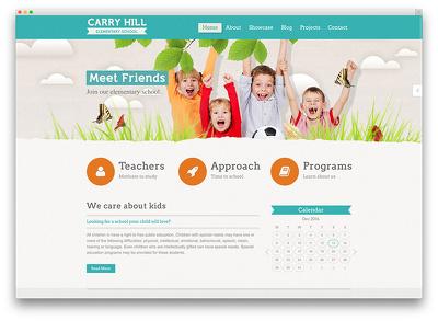 Design Stunning   Education website in wordpress