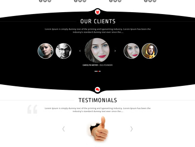 Craft eye catching PSD for websites