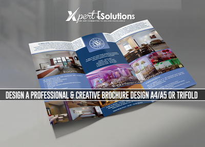 Design a professional & Creative brochure Design A4/A5 or trifold