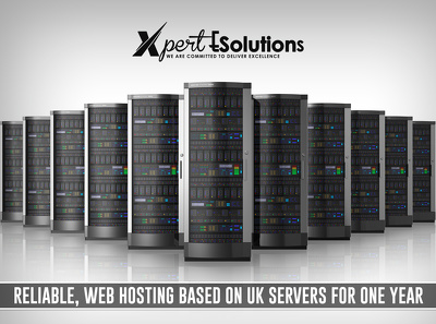 reliable, web hosting based on UK servers for one year