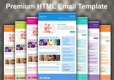 Build a Premium HTML Email Template to help you market your business