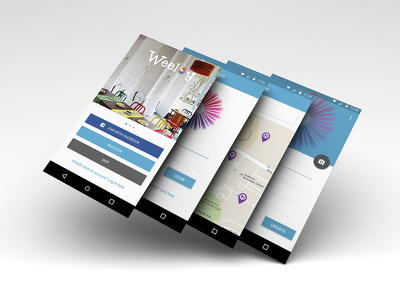 Design Android/iOS UI with iOS Human Interface Guidelines & Android MD Guidelines