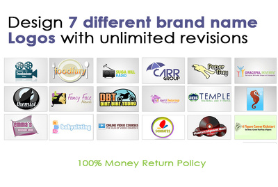Design amazing custom designed Logos with unlimited revisions