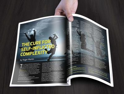 Design outstanding magazine layout