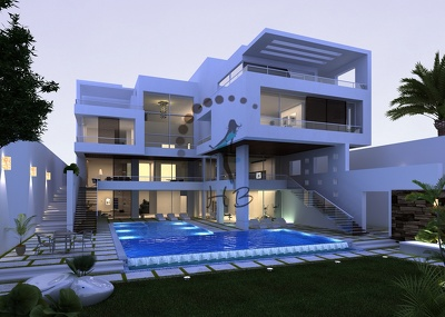 Design your house or building using sketchup or 3DS MAX with realistic vray rendering