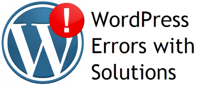 Fix your WordPress site single issue / error