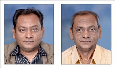 Create your age progression image