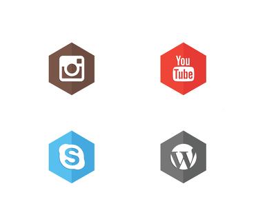 Design Set of 6 custom Icons