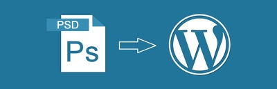 Convert Photoshop (PSD) into WordPress website