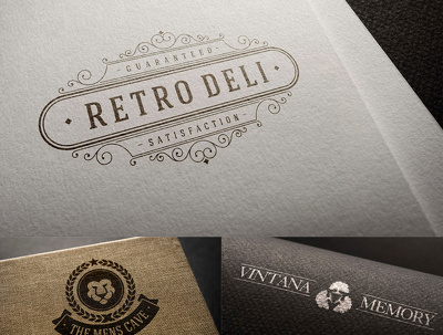 Create 10 Concept Stunning Vintage Badge / Logo For Your Bussines or Personal