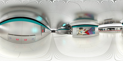 Make 360 vr - panorama render (virtual tour) in Quicktime and Flash