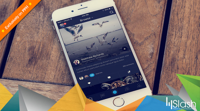 Develop a flawless native iPhone application on (iOS 8 or 9) swift